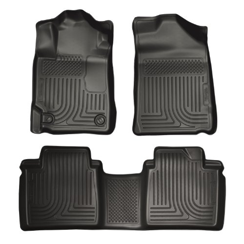 Husky Liners Custom Fit Front and Second Seat Floor Liner Set for Select Toyota Camry Models (Black)