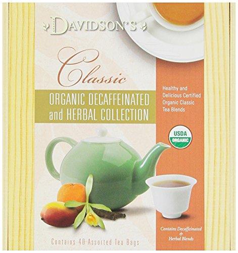 Davidson's Tea Chai Mini Tea Chest, 40 Assorted Teabags, (Pack of 2)
