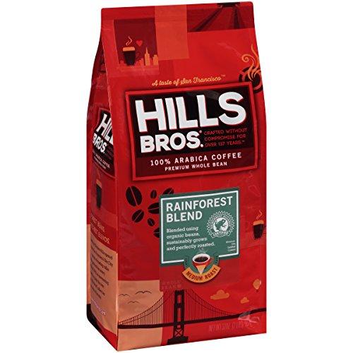 Hills Bros Coffee Rainforest Blend Whole Bean, 32 Ounce