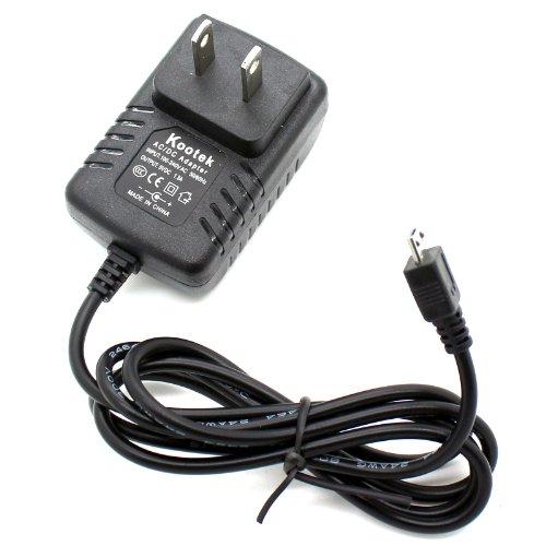 Kootek Raspberry Pi Power Supply Micro USB Charger (DC 5V 1.5A 1500mA)