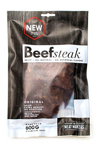 The Meat Makers Original Taste Dried Beef Steak, 200g