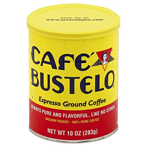 Café Bustelo Espresso Ground Coffee Can, 10 Ounce