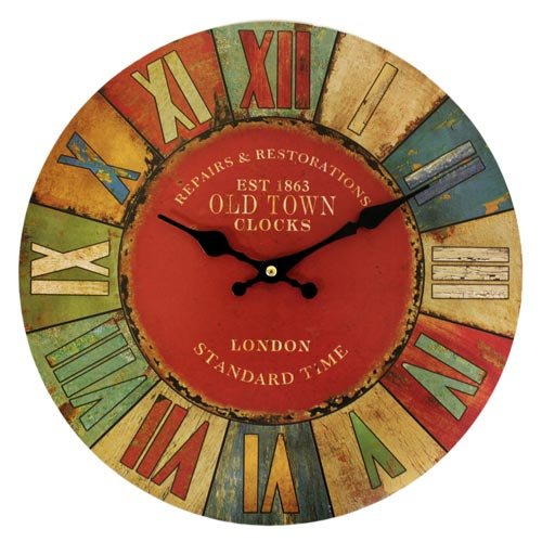 Wall Clock - London Old Town