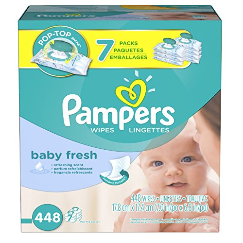 Pampers Softcare Baby Fresh Wipes 7x box (1008 Count Family Size)