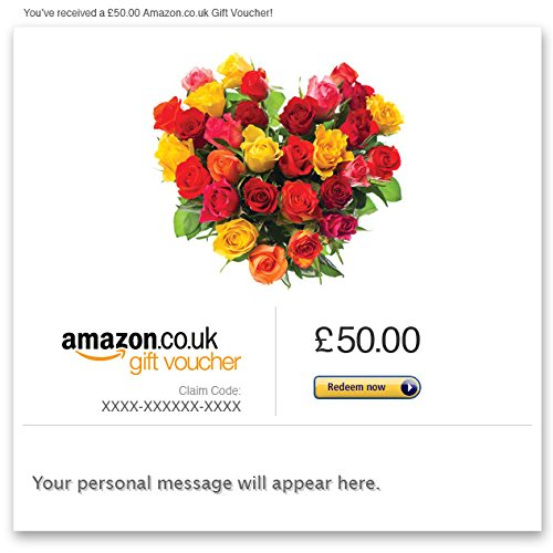 Love (Flowers) - E-mail Amazon.co.uk Gift Voucher