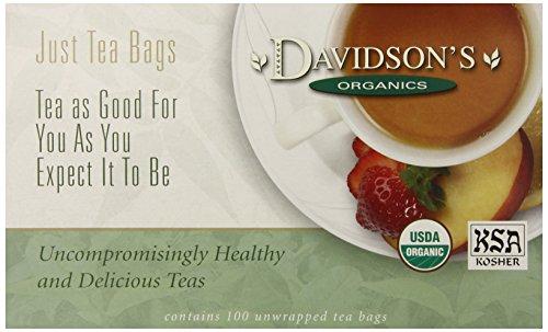 Davidson's Tea Lemon Myrtle, 100-Count Tea Bags