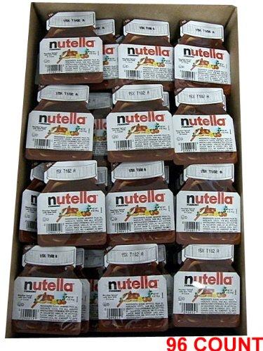 Nutella - Hazelnut Spread, CASE, (96 x .52 oz)) 96 COUNT