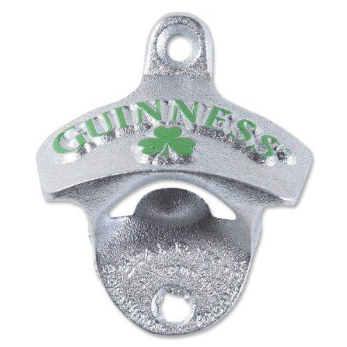 Guinness Wall Mounted Shamrock Bottle Opener