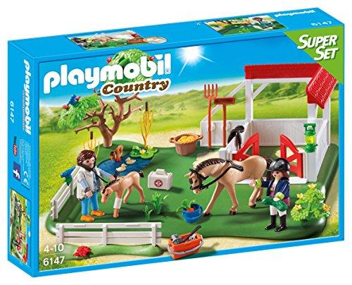 Playmobil 6147 Country Horse Paddock Super Set