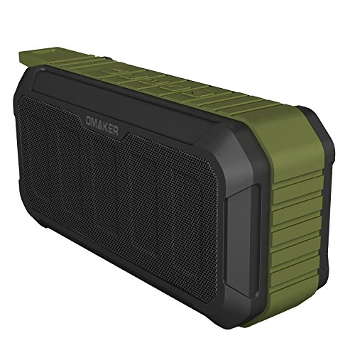 Omaker M5 Waterproof Wireless Bluetooth Speakers IP67 Rated with Indoor and Outdoor Speakers Modes
