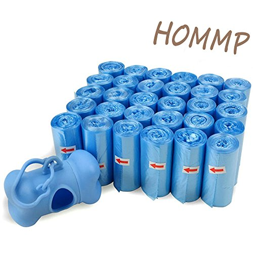 HOMMP Waste Dog Bags, 30 Rolls /600 Bags, With 1 Dispenser
