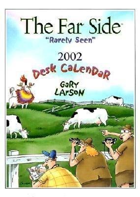 The Far Side Rarely Seen 2002 Desk Calendar