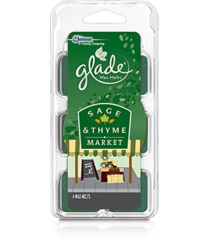 Glade Wax Melts Sage and Thyme Market