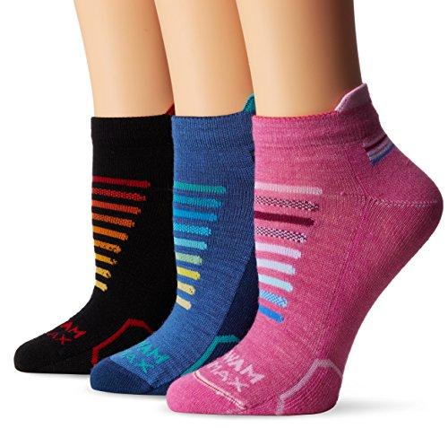 Wigwam Women's Ironman Spectrum Pro Low Cut Running Sock 3-Pack