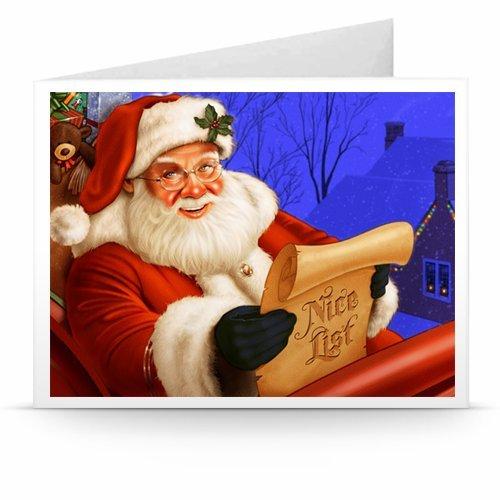 Santa's Christmas List - Printable Amazon.co.uk Gift Voucher