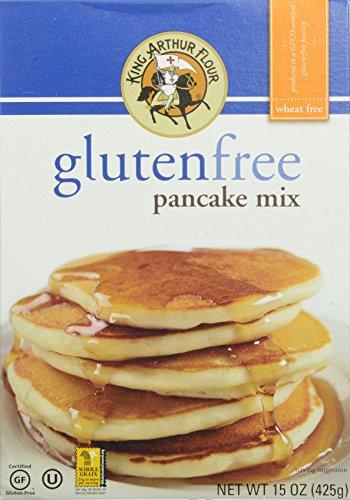 King Arthur Gluten Free Pancake Mix, 15 Ounce