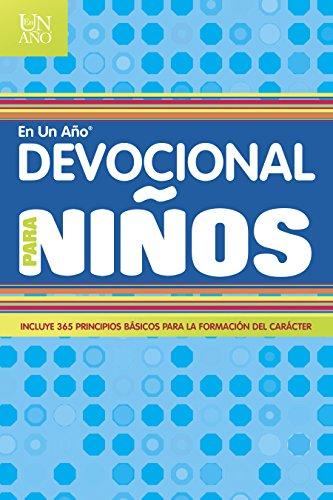 Devocional en un año para niños (Ano) (Spanish Edition)