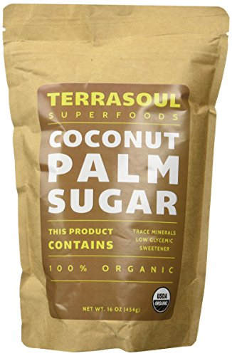 Terrasoul Superfoods Organic Coconut Sugar, 16-ounce (Pack of 2)