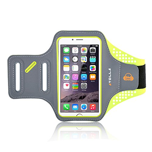 iPhone 6 armband, Atolla Flying Wing Sport armband for iPhone 6S 6 5S 5 Galaxy S6 S6 Edge S5 Outdoor Workout Arm Band Smart Phone Running Bag For the Phone Under 5.1 inches