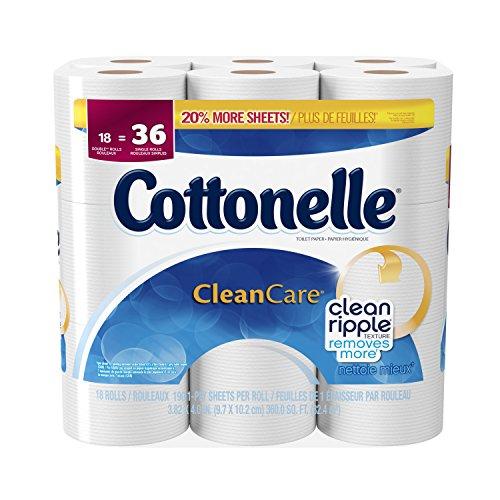 Cottonelle Clean Care Toilet Paper, 18 Pack