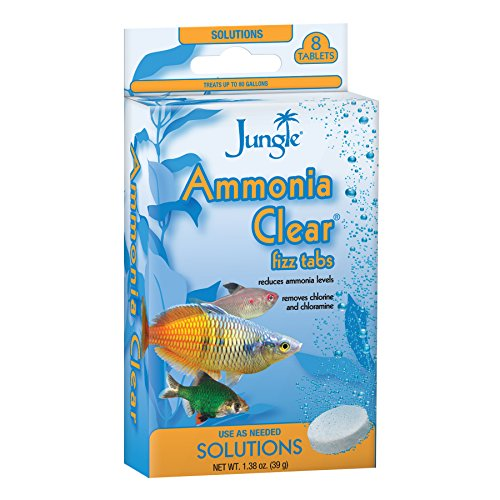 Jungle TB605W Tank Buddies Ammonia Clear Tablets, 8-Count