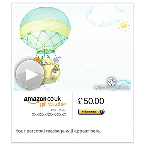 Best Wishes for Baby (Animated) - E-mail Amazon.co.uk Gift Voucher