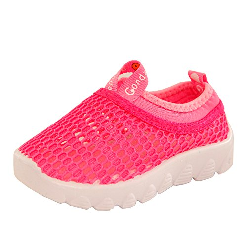 Conda Shoes Pink Mesh Girls Sneakers Hybrid Water Shoes - Durable - Machine Washable - Size 4 M US Child / 36 M EU