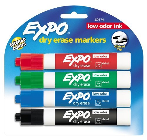 Expo Dry Erase Marker, 4 pack (pack of 6)