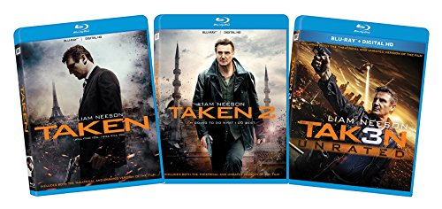 Taken 1-3 Bd Bundle Az [Blu-ray]