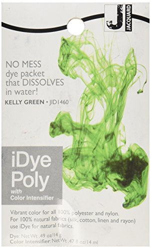 Jacquard iDye Fabric Dye 14 Grams-Kelly Green