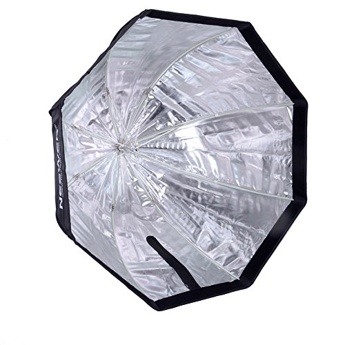 Neewer 47/120cm Octagonal Speedlite, Studio Flash, Speedlight Umbrella Softbox with Carrying Bag for Portrait or Product Photography