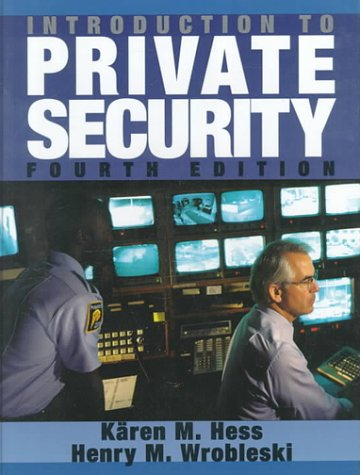 Introduction to Private Security