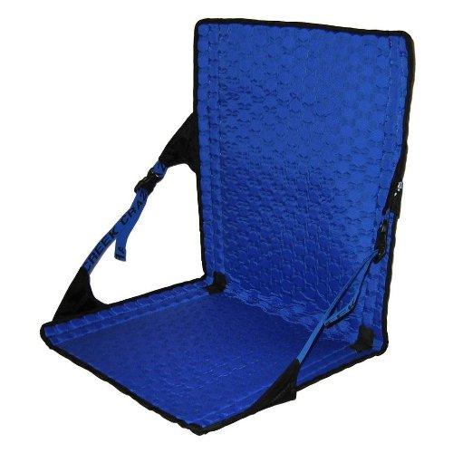 Crazy Creek HEX 2.0 LongBack Chair - Black/Royal Blue