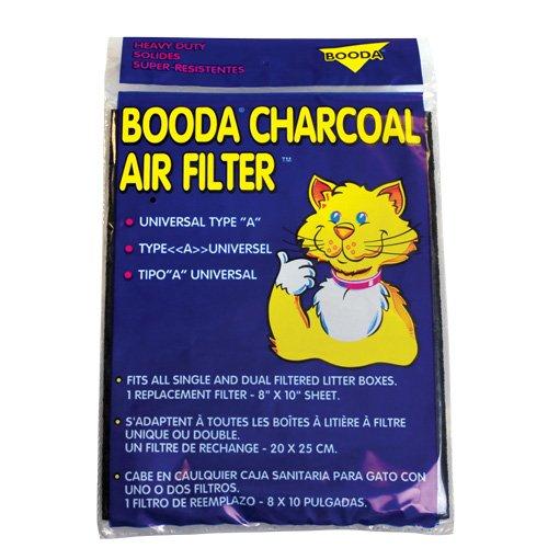 Booda Universal Charcoal Air Filter - 8 x 10