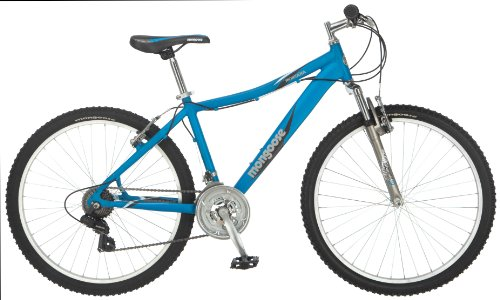 Mongoose Women's Montana Mountain Bike, Matte Blue, Small