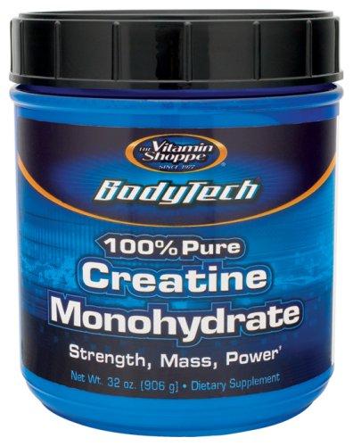 BodyTech - 100% Pure Creatine Monohydrate, 5 gm, 32 oz powder