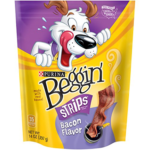 Beggin' Strips Dog Treats, Bacon, 14oz Pouch, Pack of 1