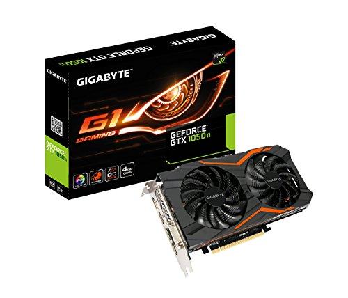 Gigabyte Geforce GTX 1050 Ti 4GB GV-N105TG1GAMING-4GD G1 GAMING Graphic Cards