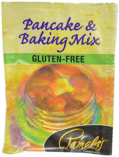 Pamela's Products Gluten Free Baking & Pancake Mix, 100-Gram Packages (Pack of 35)