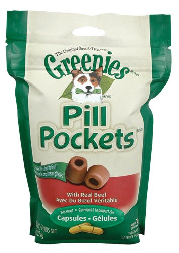 Greenies Pill Pockets Beef - Small 3.5 oz. pouch