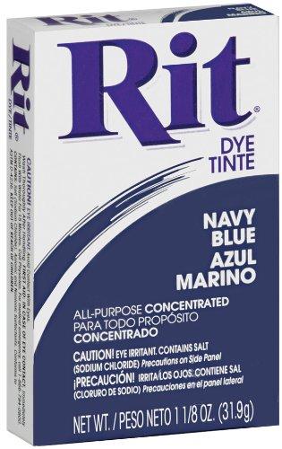 Rit Dye Sewing Powdered Fabric, Navy Blue