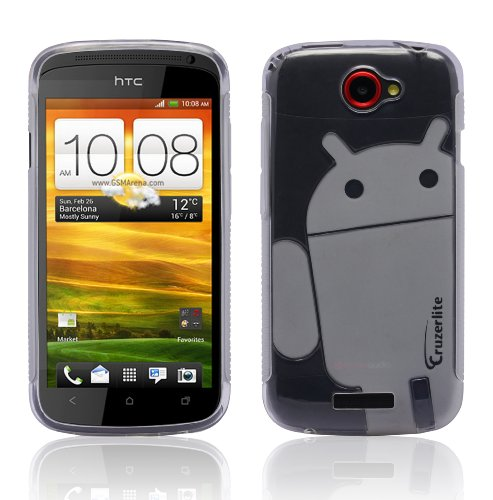 Cruzerlite Androidified A2 Case for HTC One S - Retail Packaging - Clear