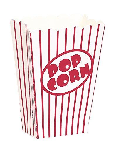 Small Popcorn Boxes 5X3.75X2 8/Pkg-