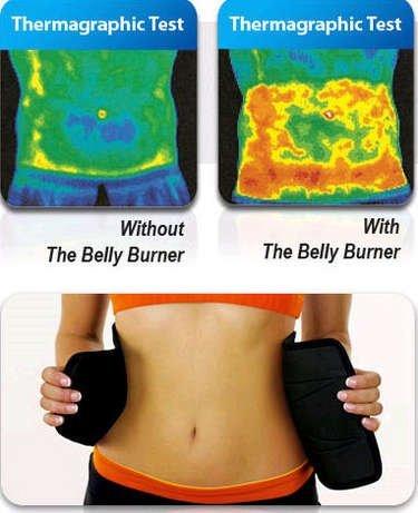 SlimHot® Hot Slimming Belly Burner Tummy Waist Trimmer Belt