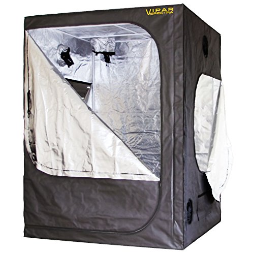 VIPARSPECTRA 60x60x80 Reflective Mylar Hydroponic Grow Tent for Indoor Plant Growing