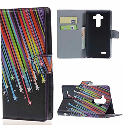 G4 Case,LG G4 Case, Welity Wallet Meteor Premium PU Leather Flip Kickstand Folio Book Style Wallet Protective Skin Pouch Phone Case & Magnetic Closure with Credit/ID Card Slot Case Cover for LG G4 Verizon/AT&T/Sprint/T-Mobile