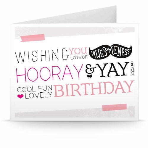 Happy Birthday (Hooray) - Printable Amazon.co.uk Gift Voucher
