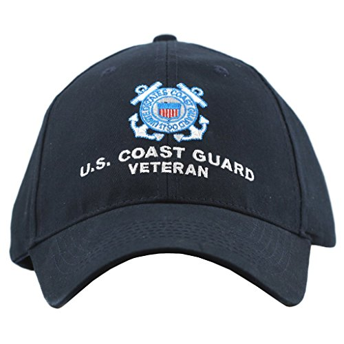 United States Coast Guard Veteran Hat for Men and Women, Military Collectibles