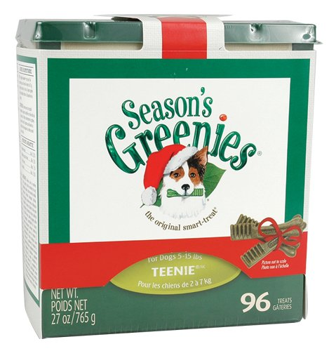 Greenies Treats for Dogs Monster Treat-Pak 107 Teenie, 30 Ounce