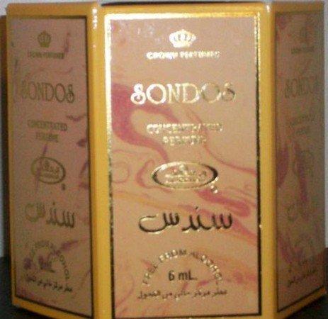 Sondos - 6ml (.2oz) Roll-on Perfume Oil by Al-Rehab (Crown Perfumes) (Box of 6)